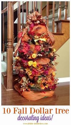 Decorations For Tree Ideas by Festive Fall Decorating Tree Ideas Debbiedoos