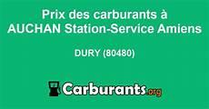 Station Auchan Station Service Amiens 224 Dury Prix Des