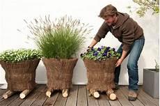 Blumenkübel Winterfest Machen - gr 252 ne oasen mit wenig aufwand selber pflanzen und bis in