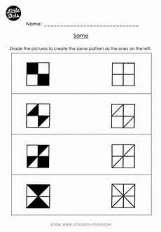 math pattern worksheet for kindergarten 337 free same and different worksheet for kindergarten shade the p pattern worksheets for