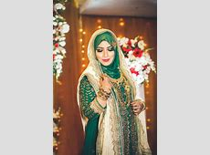 FANCY BRIDAL HIJAB STYLE DRESS DESIGN IDEAS   Bridal hijab