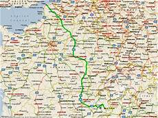 Map And Route - la tania route map calais to three valleys map and