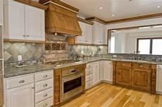 the best color granite countertop for honey oak cabinets hunker