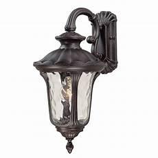 volume international tavira 22 25 in h vintage bronze outdoor wall light at lowes com