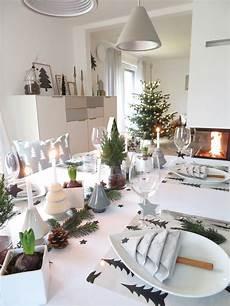 Unser Weihnachtstisch Weihnachten Winter