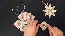 paper ornament teabag folding tutorial