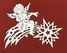 fensterbild komet mit posaunenengel holz deko weihnachten