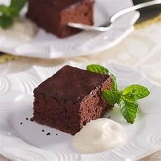 chocolate cinnamon sheet cake with almond recipe eatingwell