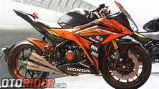 Modifikasi Spakbor Belakang Cbr150r by Modifikasi Honda All New Cbr150r 2016 Til Eksklusif