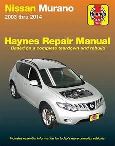chilton car manuals free download 2009 nissan murano electronic toll collection nissan murano haynes repair manual 2003 2014 hay72025