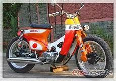 Striping C70 Modif by Motor Honda C70 Racing Impremedia Net