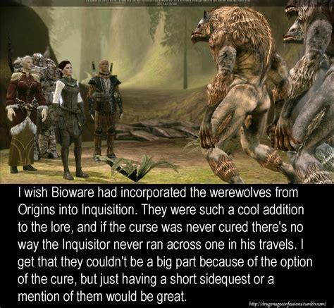 Dragon Age Origins Werewolf