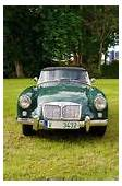 Classic MG Sports Car Editorial Stock Photo Image Of