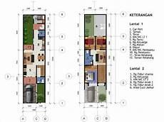 Desain Rumah 5 X 20 M2 Dua Lantai Desain Rumah