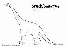 dinosaur coloring pages with names 16805 brachiosaurus coloring