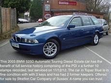 Bmw 525d Touring Estate 01825 713793