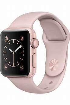apple apple serie 2 38mm aluminium couleur or