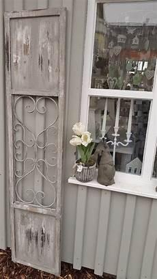 home t 252 r deko fensterladen metall holz vintage fenster