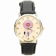 montre femme pas cher dreamcatcher bracelet cuir pu