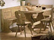 arredi tirolesi arredi tirolesi panca tavolo e sedie nuova a bari