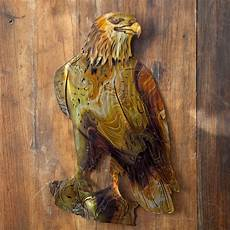 eagle indoor outdoor light reflective wall art at hayneedle