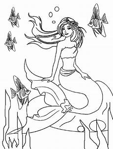 mermaid coloring pages best coloring pages for