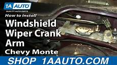 active cabin noise suppression 1995 chevrolet caprice classic transmission control wiper arm installation 1973 chevrolet monte carlo how to install replace windshield wiper