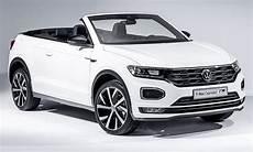 vw t roc cabrio 2020 motor ausstattung autozeitung de