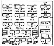 1989 chevy fuse box repair guides