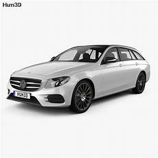 Mercedes E Class S213 Amg Line Estate 2016 3d Model