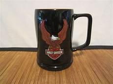 Harley Davidson Mugs by 3d Harley Davidson Black Orange Embossed Raised Eagle