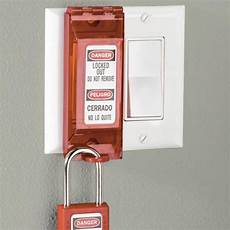 master lock wall switch lock out 496bd in blister packaging lockout tagout shop