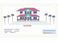 kerala house plan and elevation kerala home plan and elevation 2726 sq ft kerala home