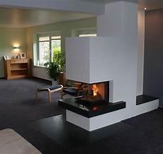 Kamin 3 Seiten Verglast Klimaanlage Und Heizung Zu Hause