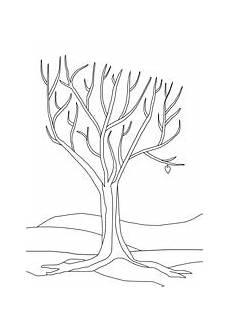 Herbst Baum Malvorlage Ausmalbilder Herbst Basteln Gestalten