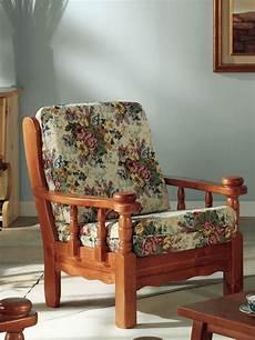 sedia arreda tirolo poltrona sill 243 n r 250 stico de madera con cojines