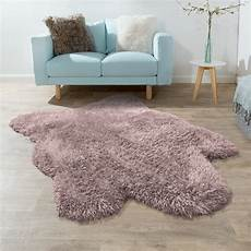 fellimitat teppich fellteppich xxl kunstfell teppich pastell lila teppich de