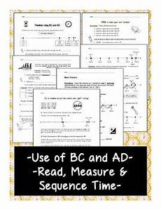 timelines using bc and ad print and go introduction and practice