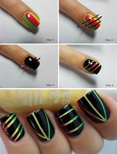 step by step nail art picture tutorial best and easy