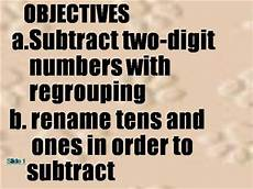 subtraction with regrouping authorstream