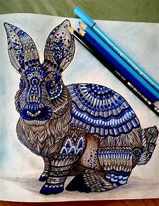 Ausmalbilder Hase Mandala Motive Vorstellungen Millie Marotta Coloring Book