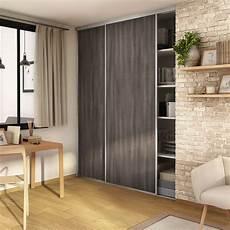 porte coulissante placard lot de 2 portes de placard coulissante l 180 x h 250 cm