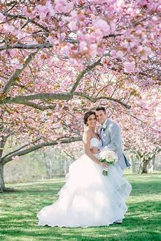 spring cherry blossom wedding at clarks landing yacht club by mckay imaging