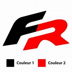 seat fr sport logo in 2 colors decal