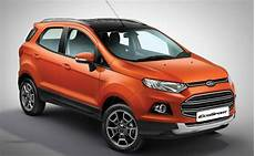 ford ecosport neu ford launches new ecosport platinum edition at rs 10 39