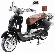 Actionbikes Motors Motorroller 187 Retro Classic Zn125t E