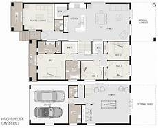 sloping block house plans floor plan friday sloping block with level rear katrina