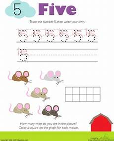 multiplication worksheets number 5 4517 tracing numbers counting 5 worksheet education