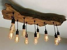 wohnzimmer stehle modern led decken holz le rustikal 120cm 4x 7w massivholz