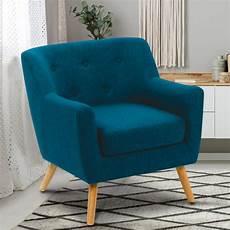 fauteuil bleu canard fauteuil scandinave bleu canard pas cher id market